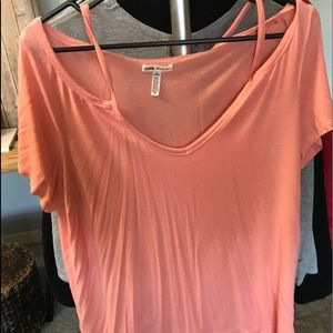 Pink clothing Top size M coral color